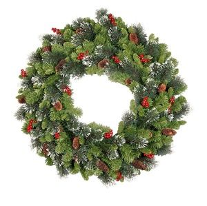Holiday - National Tree 24 Inch Crestwood Spruce Wreath